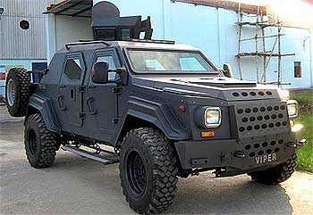 The VIPER, a fast moving attack vehicle