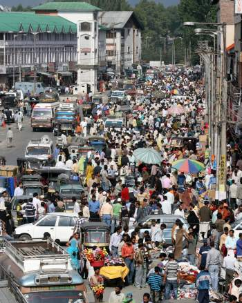Traffic jams have clogged the city's roads