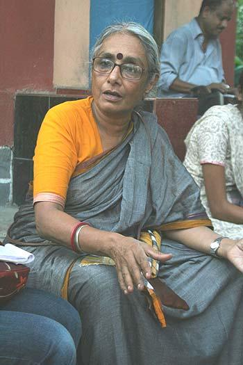 Social activist Aruna Roy