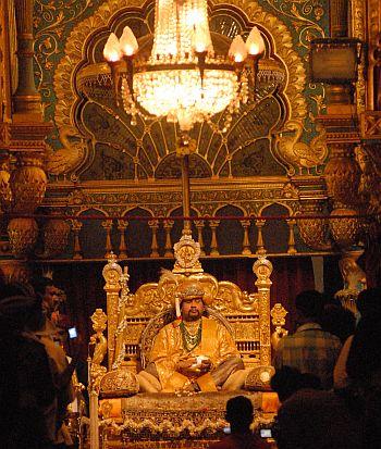 Mysore Maharaja Srikantadutta Narasimharaja Wadiyar