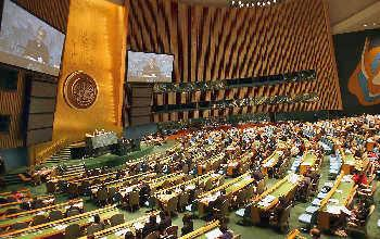 A view of the General Assembly