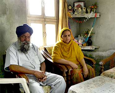 Sukhjot Singh's parents