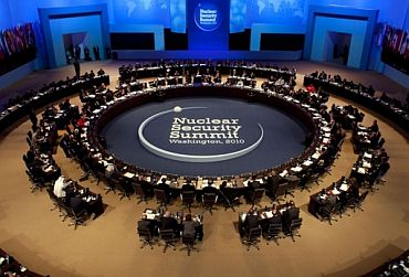 The nuclear summit in Washington, DC