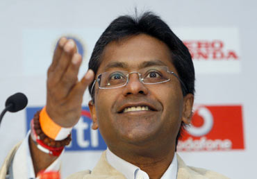 No laughing matter for Lalit Modi