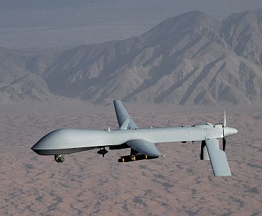 A US Air Force MQ-1 Predator unmanned aircraft