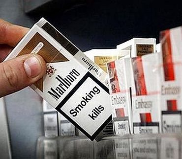 Graphical warnings do shock smokers but...