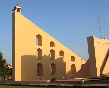 The Jantar Mantar in Jaipur