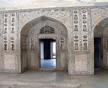 Inside the Musamman Burj, where Shah Jahan spent the last seven years of his life under house arrest by his son Aurangzeb