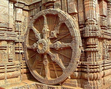 Wheel of Konark Sun Temple