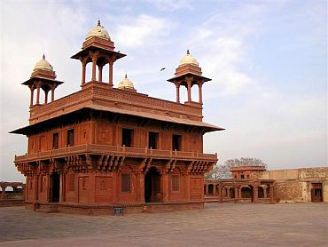 The Diwan-i-Khas -- Hall of private audience