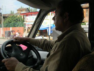Taxi driver Abdul Hamid