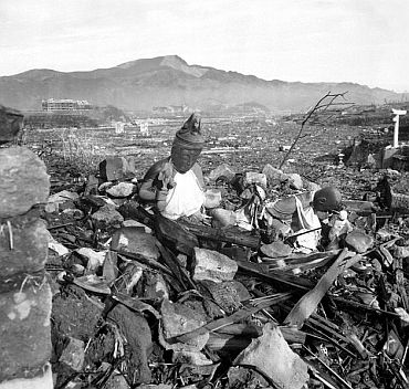 A Japanese report on the bombing characterised Nagasaki as 'like a graveyard with not a tombstone standing'.