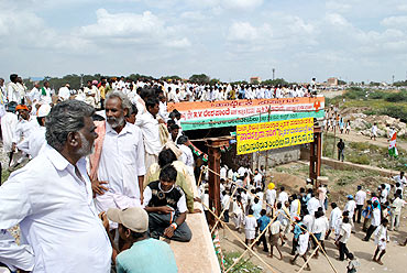The Congress rally at Bellary