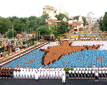 Independence Day celebrations in New Delhi