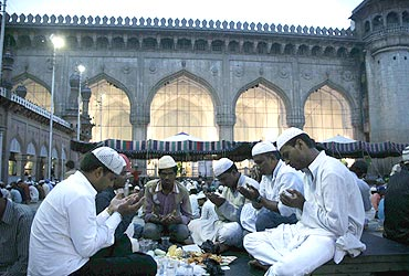 The holy month of fasting begins