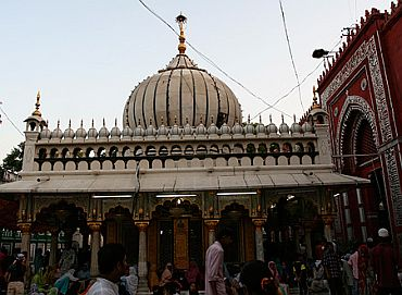 The 48-year-old Nizamuddin dargah