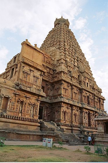 The Big Temple in Thanjavur is an architectural marvel