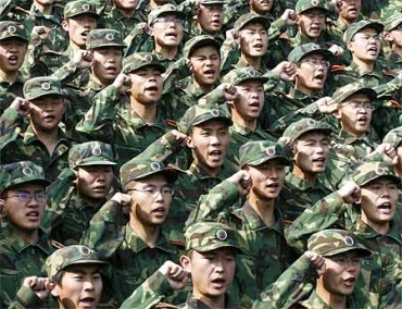 Soldiers of the PLA