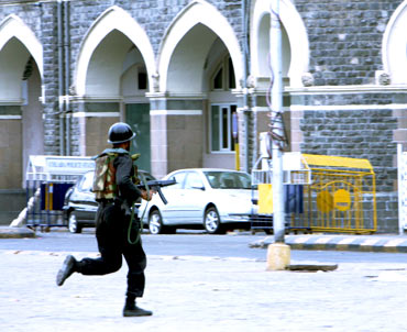 A commando during the Taj operation to flush out the terrorists