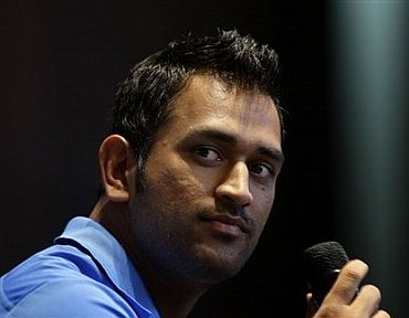 Indian cricket captain Mahendra Singh Dhoni is a role model for many Indians