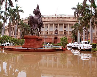 A water-logged Parliament is evidence of the fury with which rains have hit Delhi