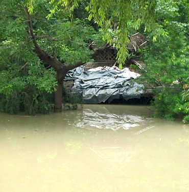 The submerged ashram