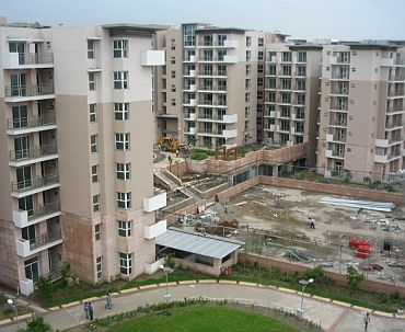 File photo of the games village complex