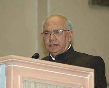 Governor HR Bhardwaj has been a critic of the cow slaughter bill