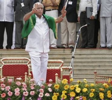 Chief Minister BS Yeddyurappa