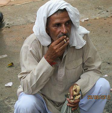 Ombir Singh from Shahpur Badoli in Bhagpat