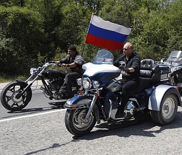 Russian Prime Minister's daredevil ways