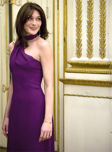 French First Lady Carla Bruni Sarkozy