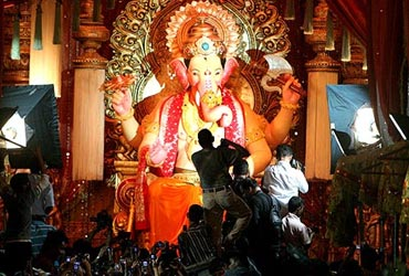 From our files: Lakhs of devotees wait patiently for a glimpse of Lalbaugcha Raja