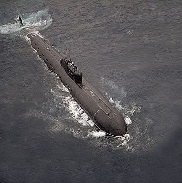 File photo of INS Chakra