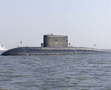 File photo of INS Sindhughosh
