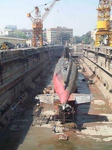 File photo of Mazagon docks