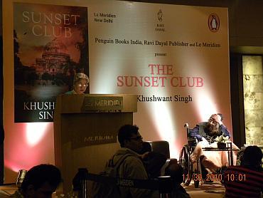 Gursharan Kaur at the book launch