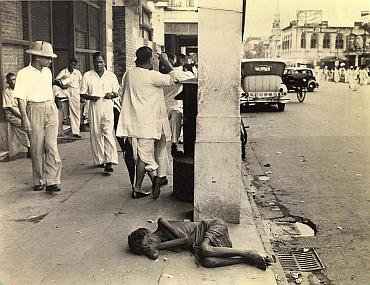 Deprivation during the Bengal famine