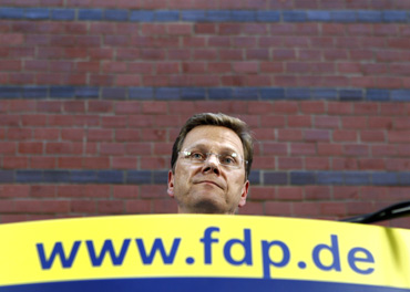 German foreign minister and head of the FDP Guido Westerwelle says he does not believe that his PA leaked information