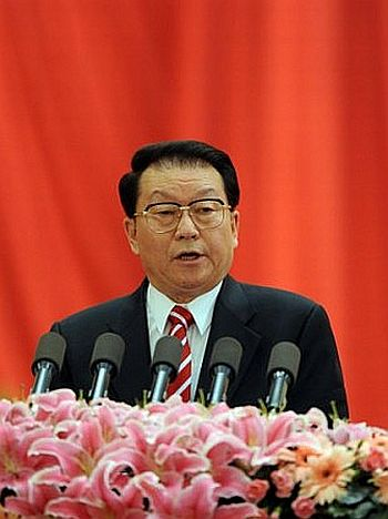 Li Changchun is ranked fifth in the Chinese Communist Party politburo