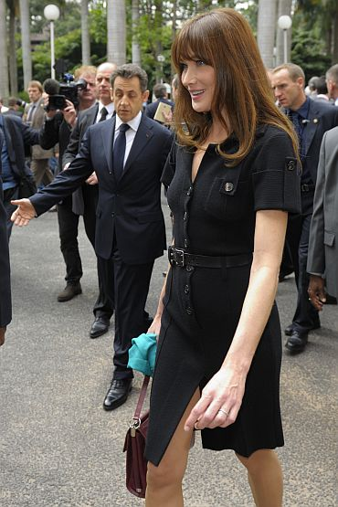 Carla Bruni is not just a model. Here's proof