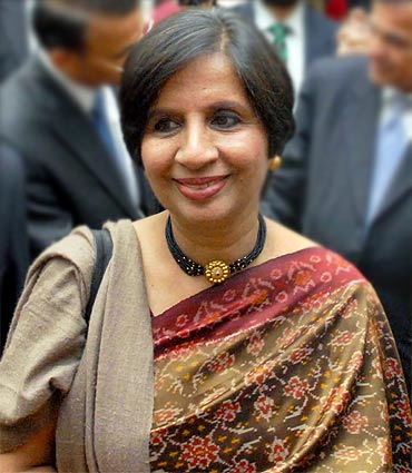 Indian Foreign Secretary Nirupama Rao