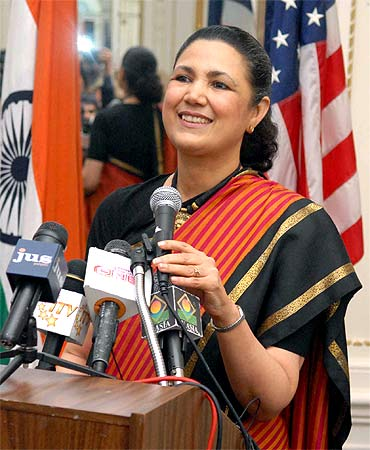Indian ambassador to US Meera Shankar