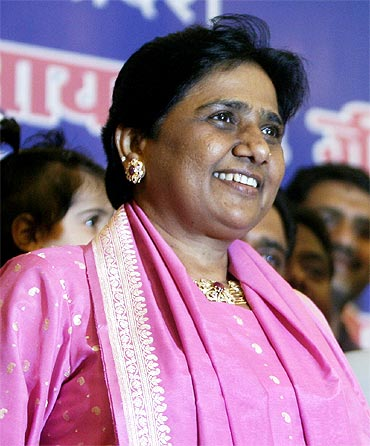 Mayawati, Chief Minister, Uttar Pradesh and Bahujan Samaj Party chief