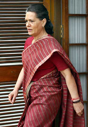 Sonia Gandhi, Congress President and UPA Chairperson
