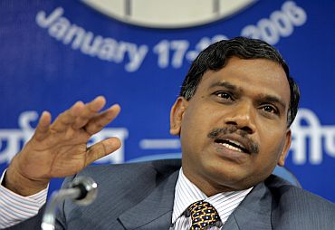 Former Telecom Minister A Raja (in the pic), who resigned recently, is alleged to be at the centre of the massive 2G scam. Opposition demand for a JPC probe in the scam has paralysed the Parliament