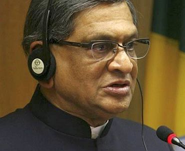External Affairs Minister S M Krishna