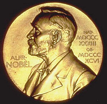 The Nobel Peace Prize medallion