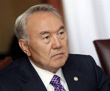 Kazakhstan president, Nursultan Nazarbayev