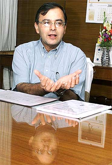 BJP senior leader Arun Jaitley